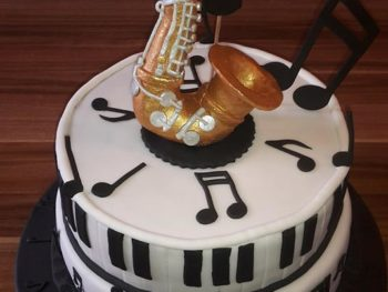 Saxophone-Torte