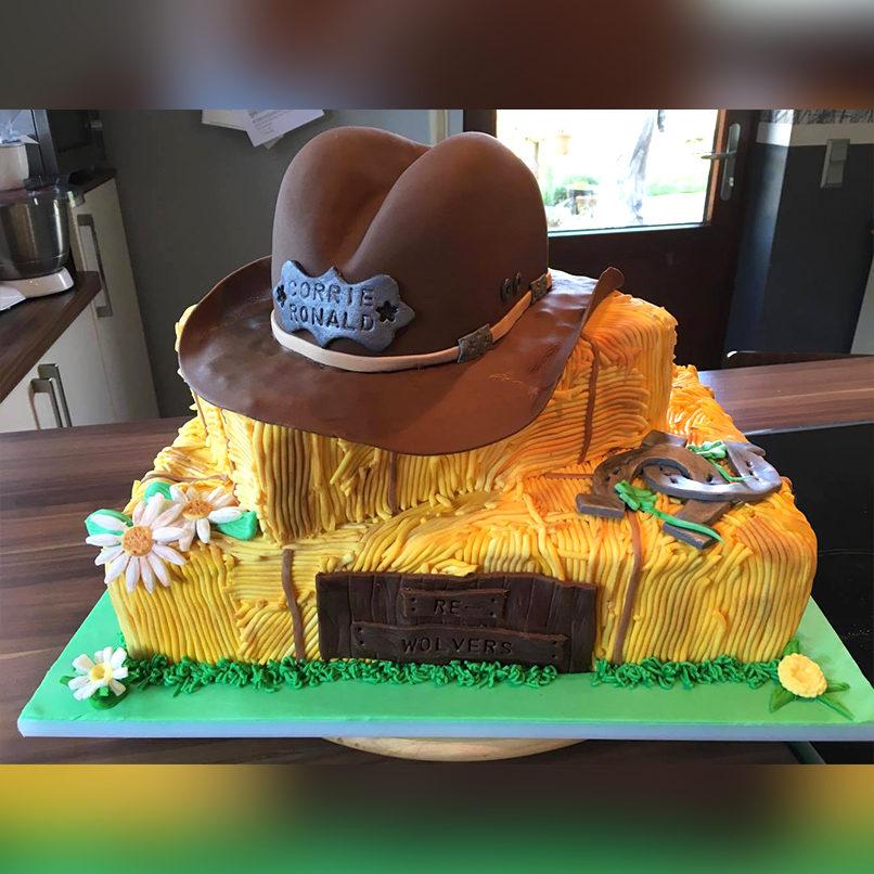 Kreative Western-Torte