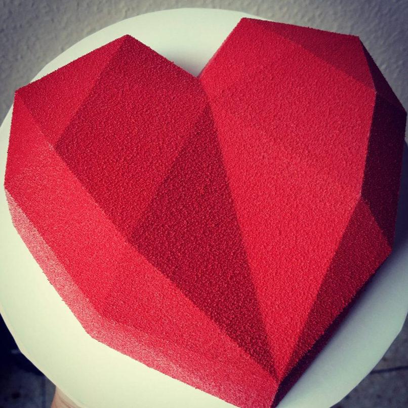 Eine Herztorte zum Verlieben