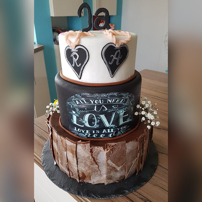 All you need is Love and a little bit of Cake